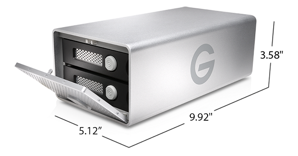 G-RAID with Thunderbolt 3 Specifications