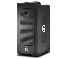 G-SPEED Shuttle XL with Thunderbolt 2 & ev Bay Adapters
