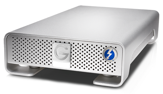 WD G-Technology G-DRIVE with Thunderbolt