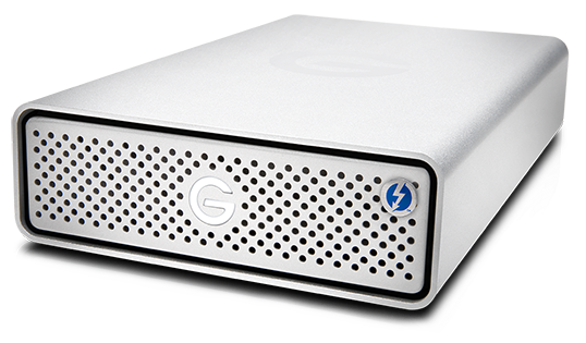WD G-Technology G-DRIVE Thunderbolt 3