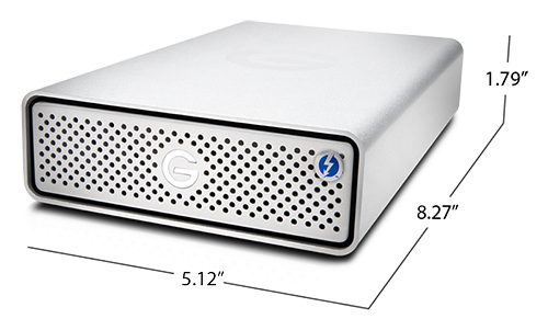 G-DRIVE Thunderbolt 3 Specifications
