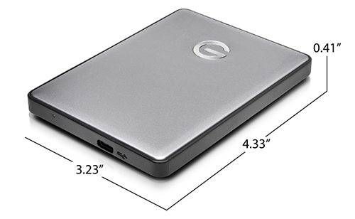 G-DRIVE mobile USB-C Specifications
