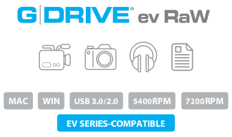 G-DRIVE ev RaW Description